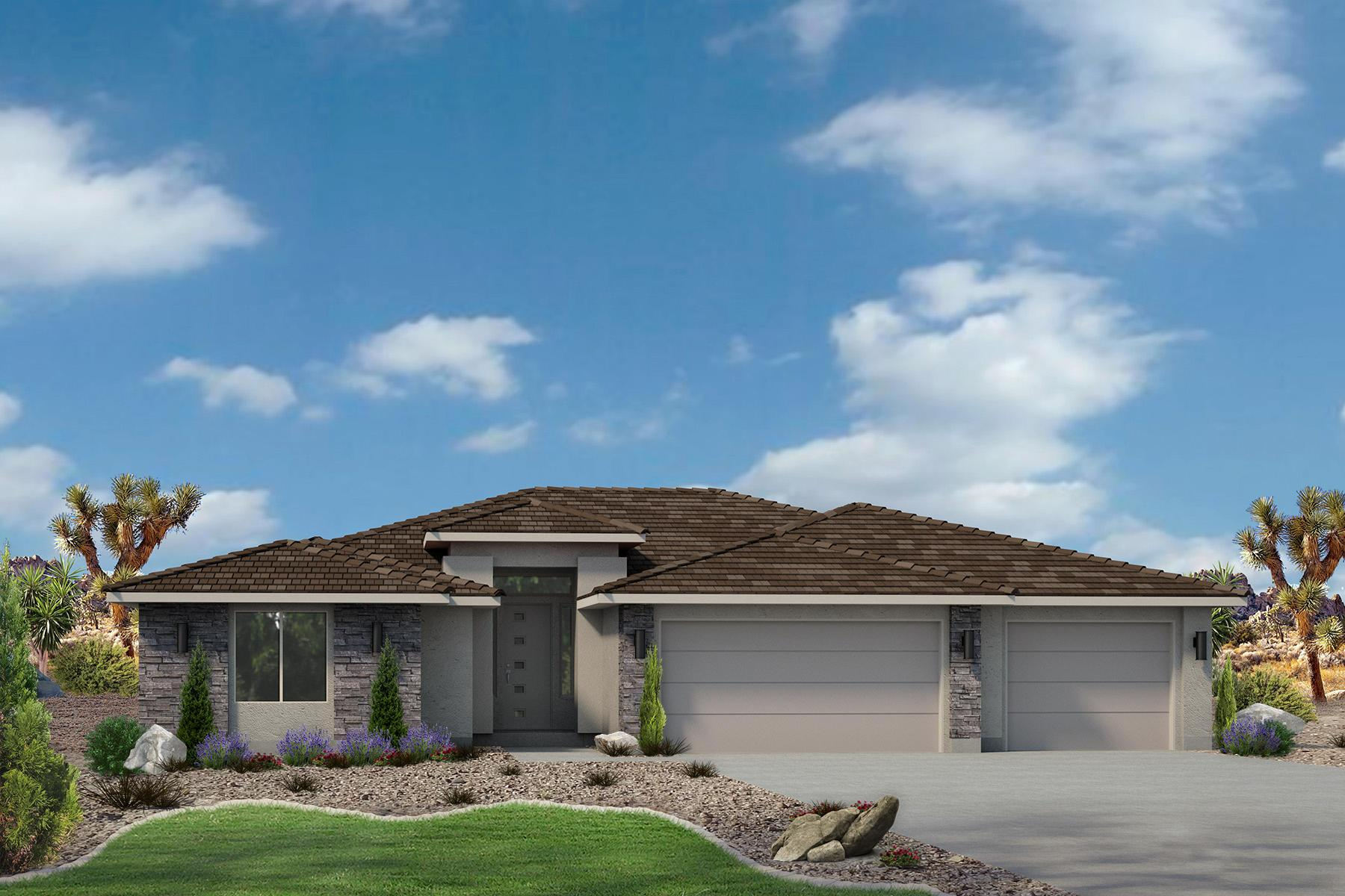 Exterior featured in the Sand Ridge Plan 2592 By Ence Homes in St. George, UT