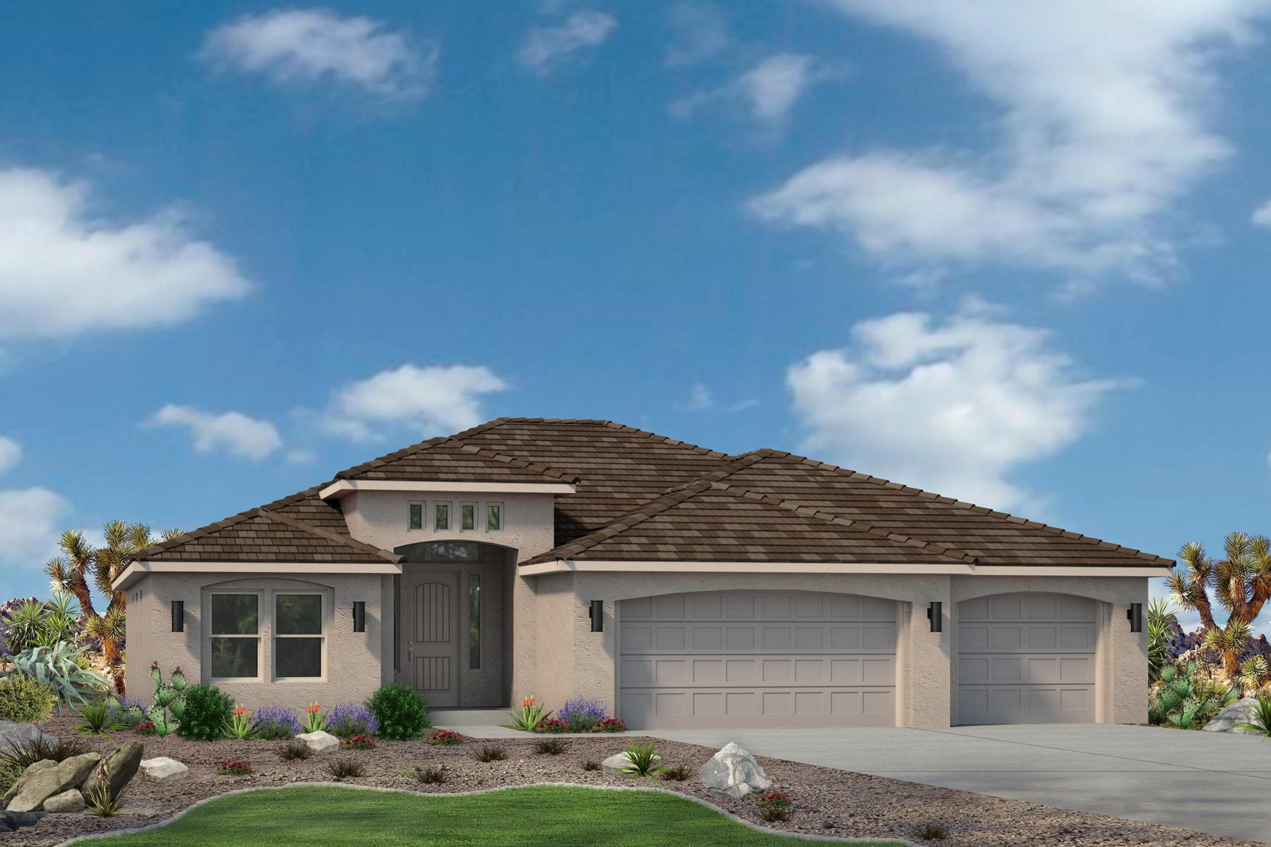 Exterior featured in the Sand Ridge Plan 2114 By Ence Homes in St. George, UT