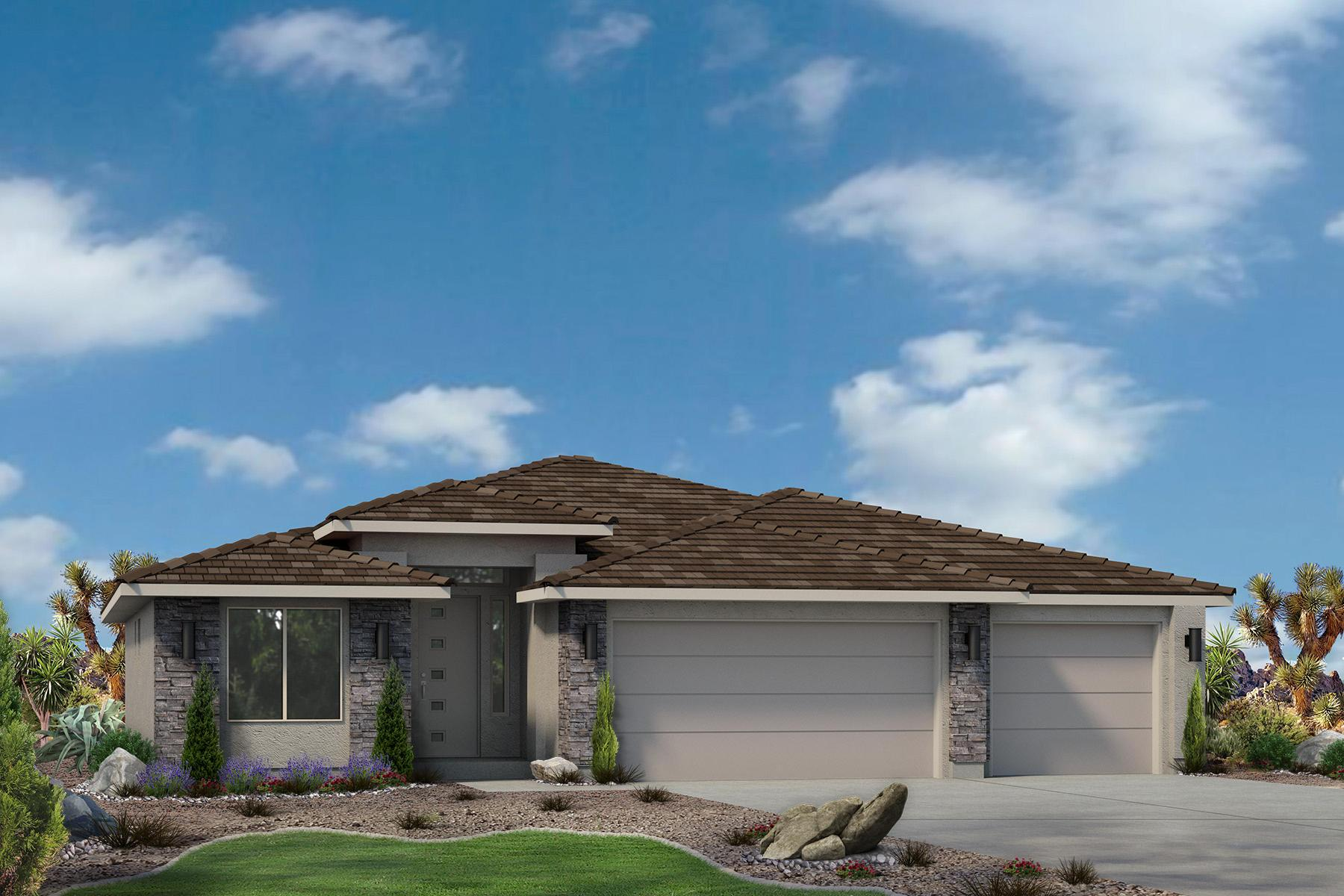 Exterior featured in the Sand Ridge Plan 1872 By Ence Homes in St. George, UT