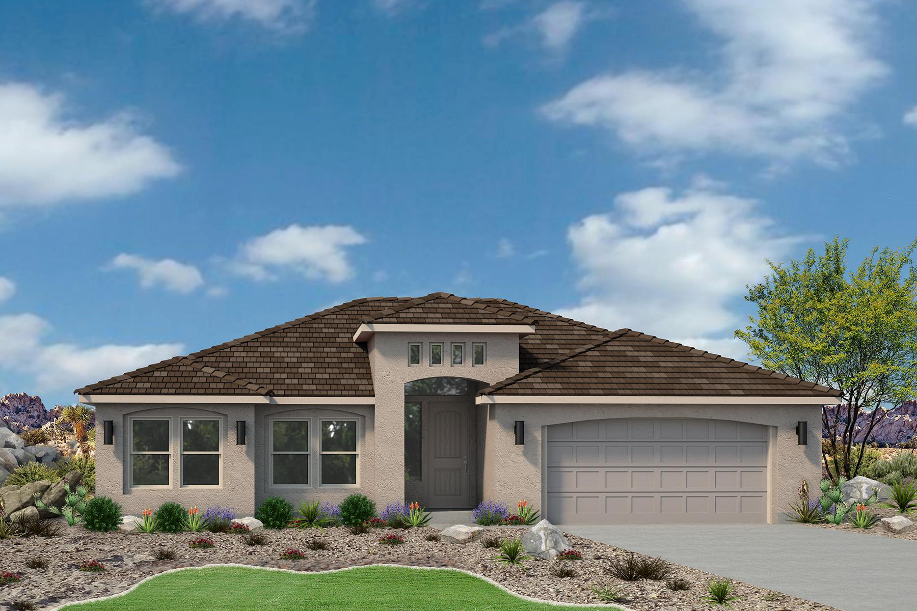 Exterior featured in the Sand Ridge Plan 1528 By Ence Homes in St. George, UT