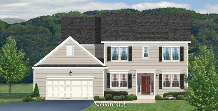 Barclay Plan Mars Pennsylvania 16046 At The Village Camp Trees By Weaver Homes