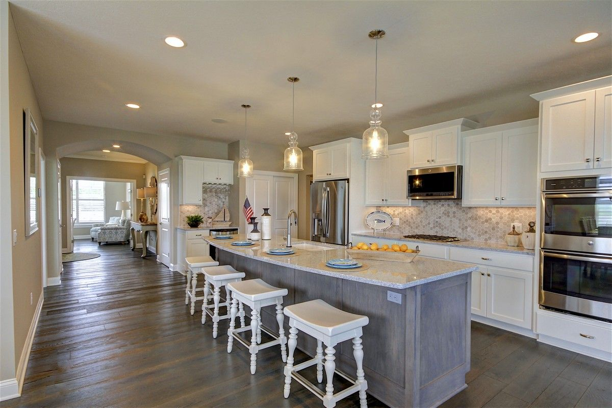 Kitchen featured in the Verona By Epcon Homes and Communities in Sandusky, OH