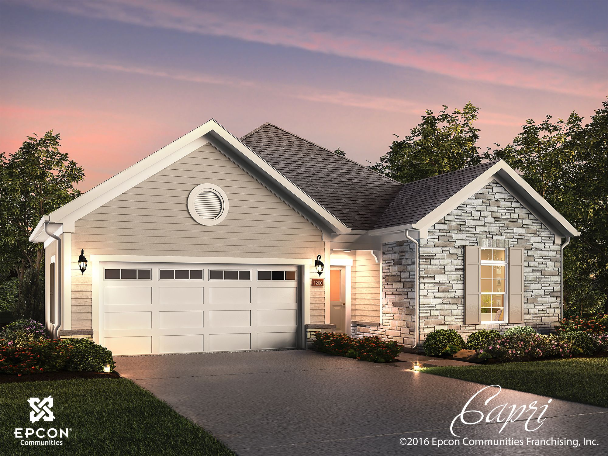 Exterior featured in the Capri By NewStyle Communities in Greenville-Spartanburg, SC