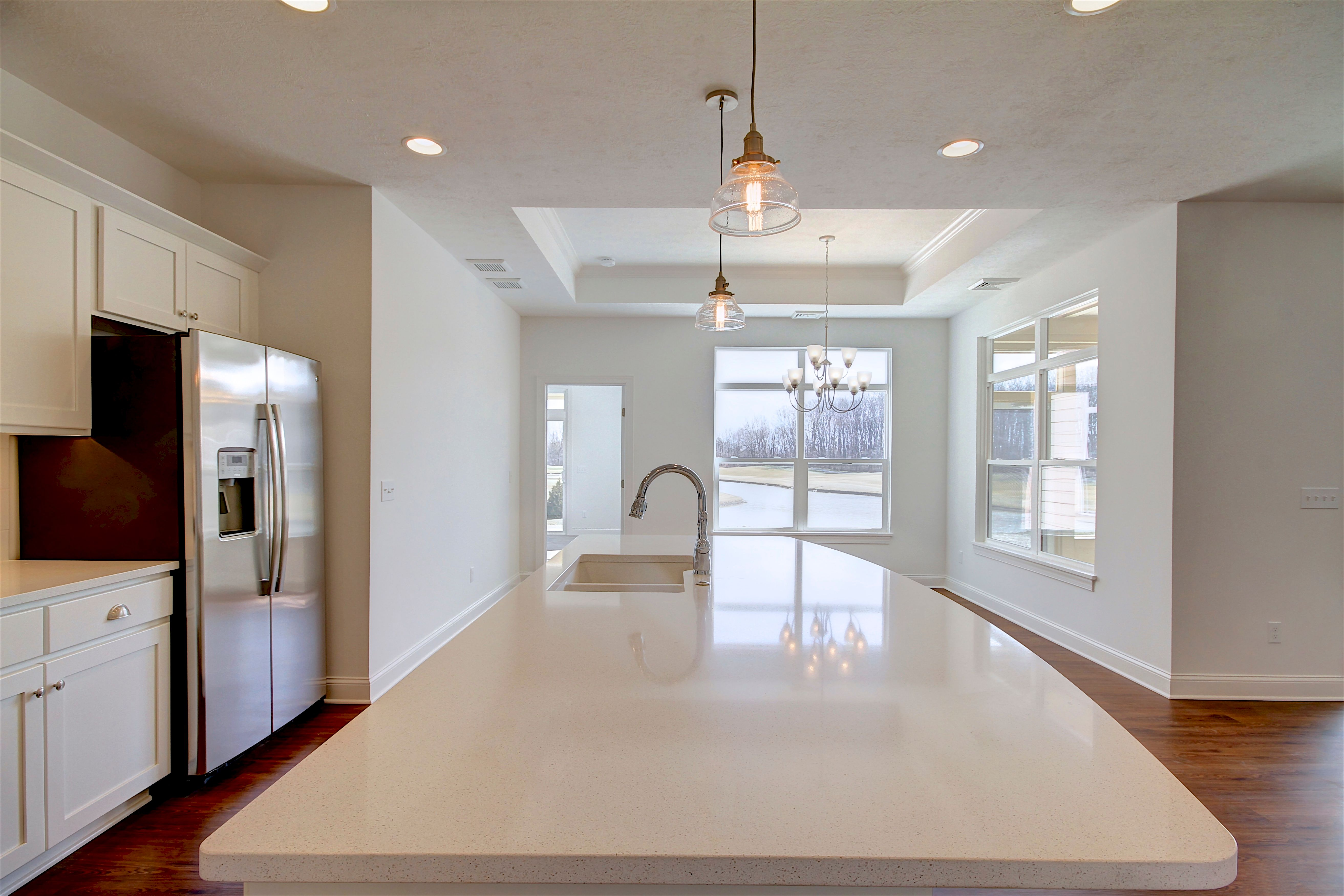 Kitchen featured in the Salerno By Epcon Homes and Communities in Sandusky, OH