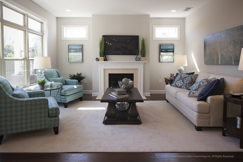 Living Area featured in the Portico By Epcon Homes and Communities in Sandusky, OH