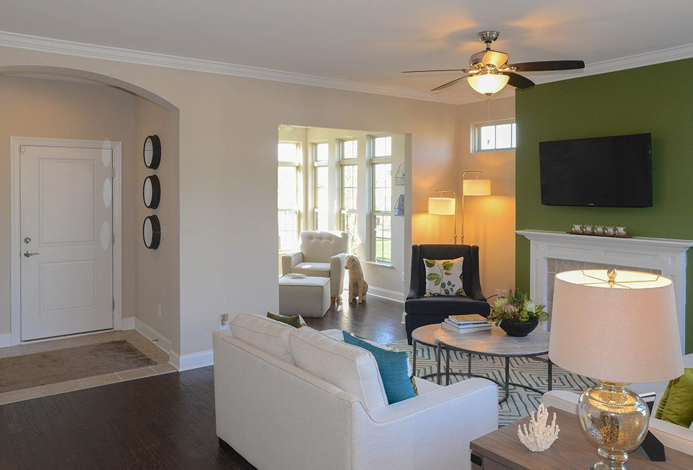 Living Area featured in the Palazzo By Epcon Communities in Raleigh-Durham-Chapel Hill, NC