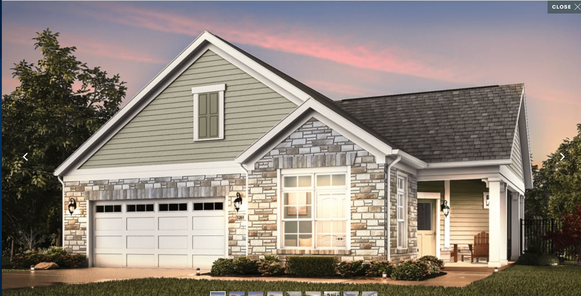 Exterior featured in the Promenade By Epcon Homes and Communities in Sandusky, OH