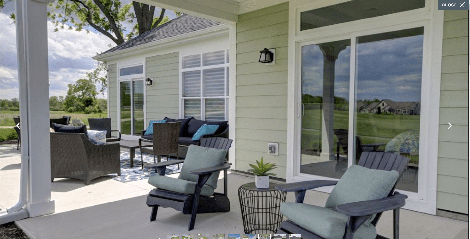 Exterior featured in the Verona By Epcon Homes and Communities in Sandusky, OH