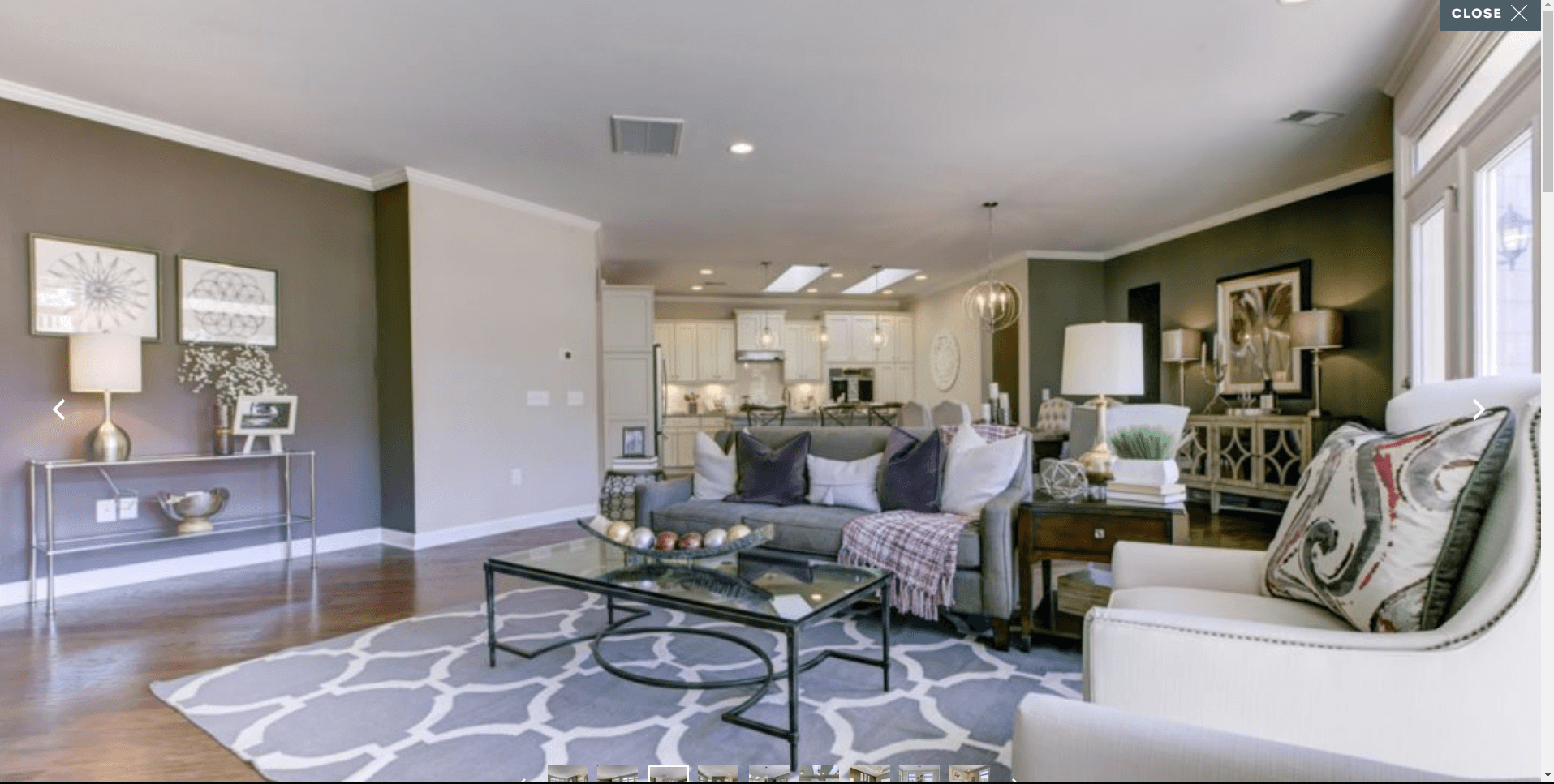 Living Area featured in the Promenade By Epcon Homes and Communities in Sandusky, OH