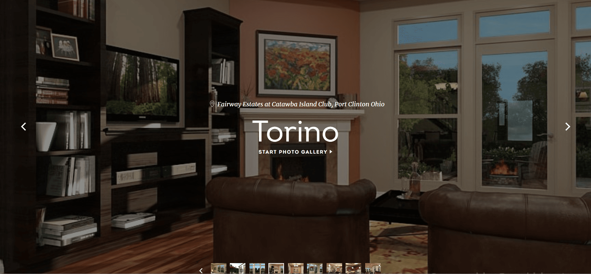 Living Area featured in the Torino By Epcon Homes and Communities in Sandusky, OH