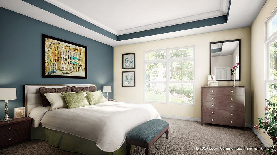Bedroom featured in the Salerno By Epcon Communities in Raleigh-Durham-Chapel Hill, NC