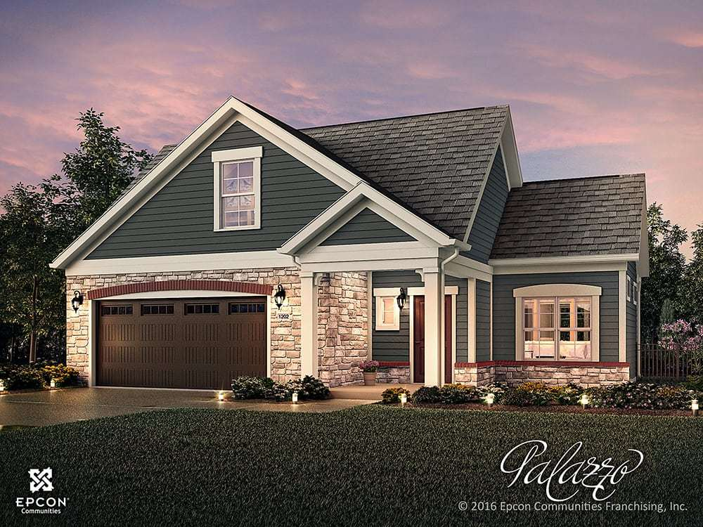 Exterior featured in the Palazzo By Epcon Communities in Charlotte, NC