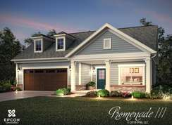 Promenade III - Charlotte Corporate - The Courtyards on Poplar Tent: Concord, North Carolina - Epcon Communities