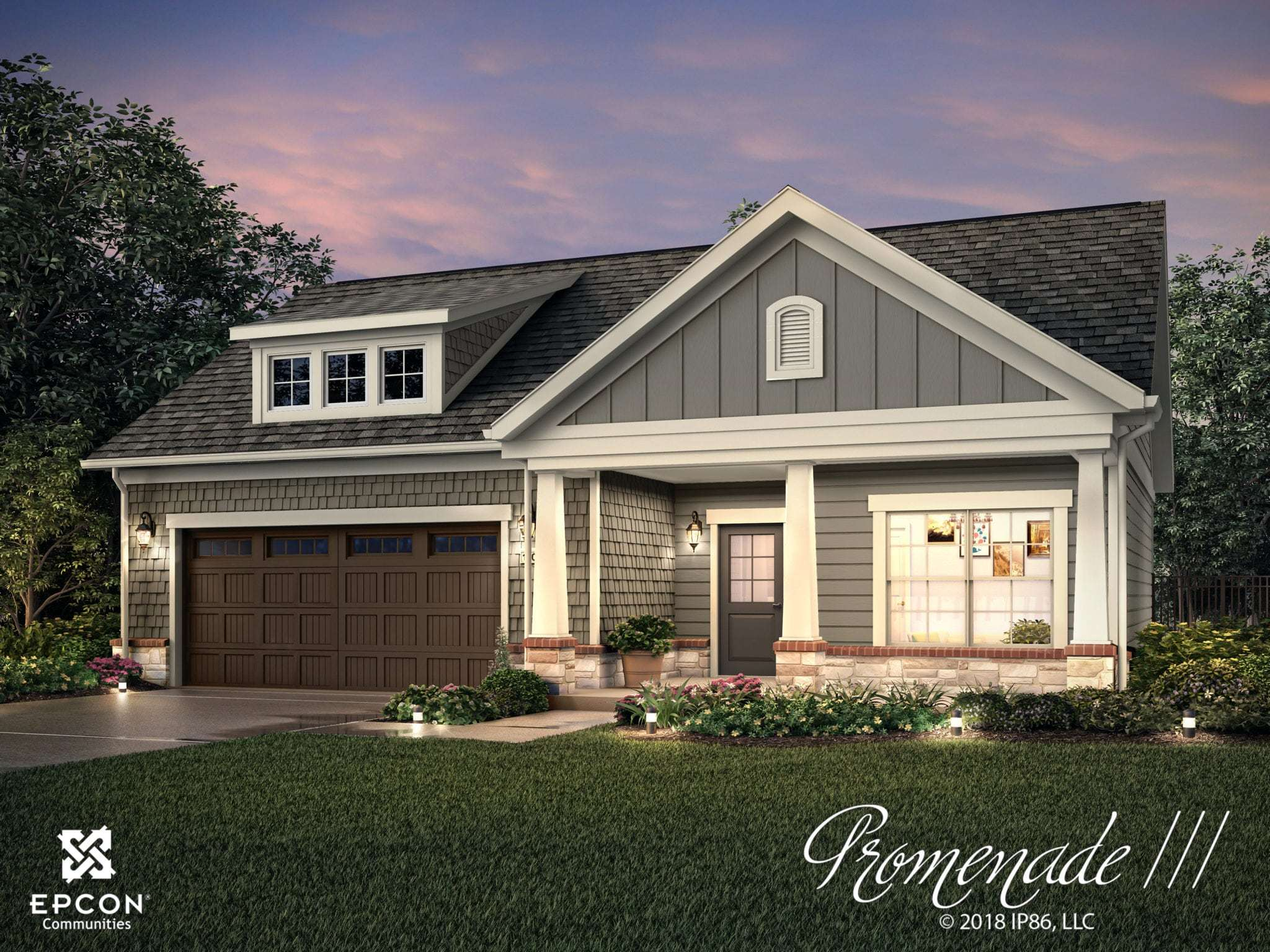 Exterior featured in the Promenade III - Charlotte Corporate By Epcon Communities in Charlotte, NC