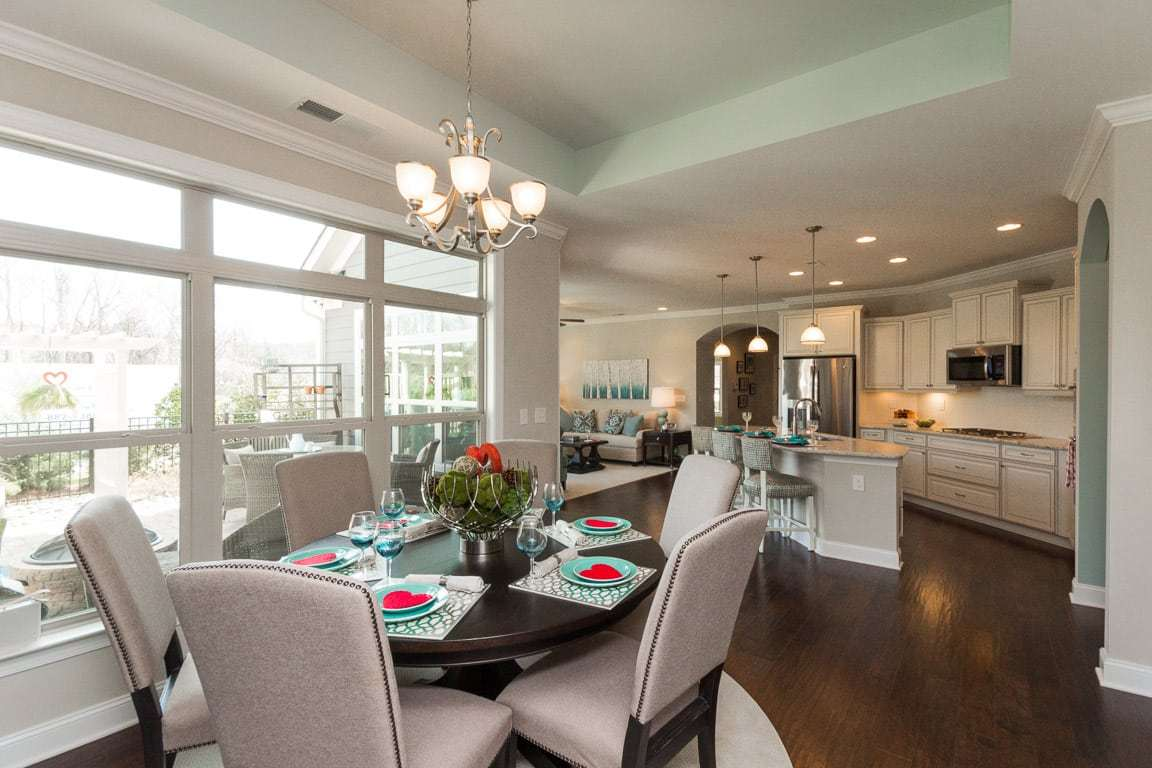 Kitchen featured in the Portico By Epcon Communities in Charlotte, NC