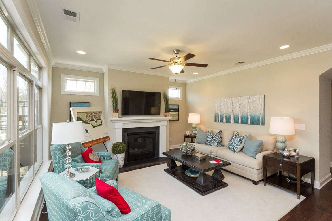 Living Area featured in the Portico By Epcon Communities in Charlotte, NC