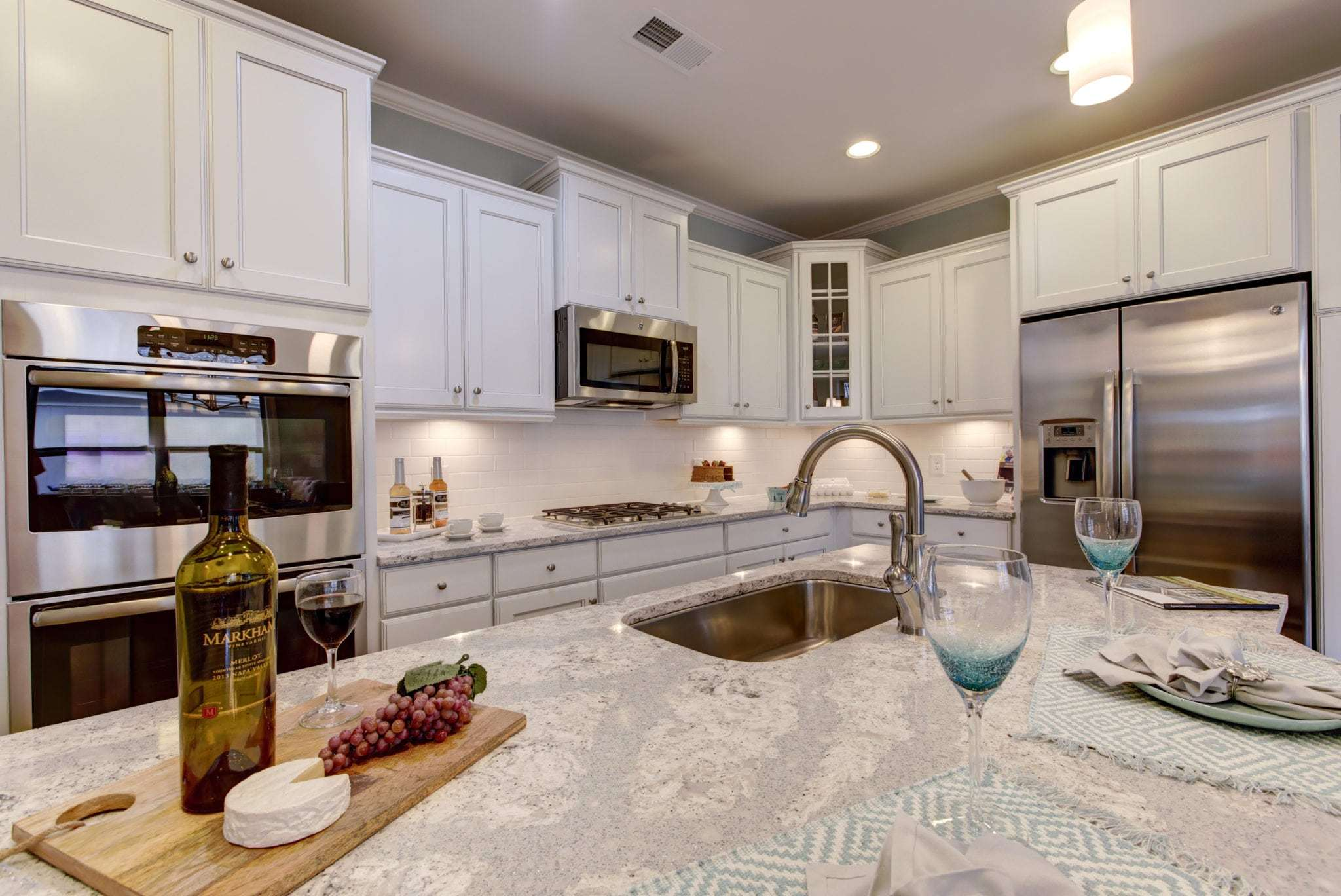 Kitchen featured in the Palazzo By Epcon Communities in Raleigh-Durham-Chapel Hill, NC