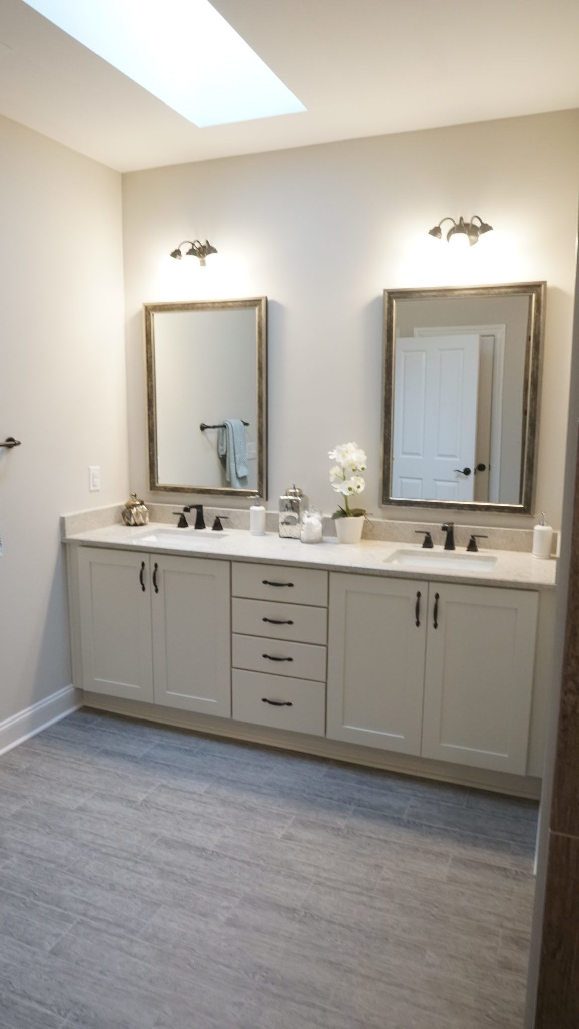 Bathroom featured in the Promenade III - Charlotte Corporate By Epcon Communities in Charlotte, NC