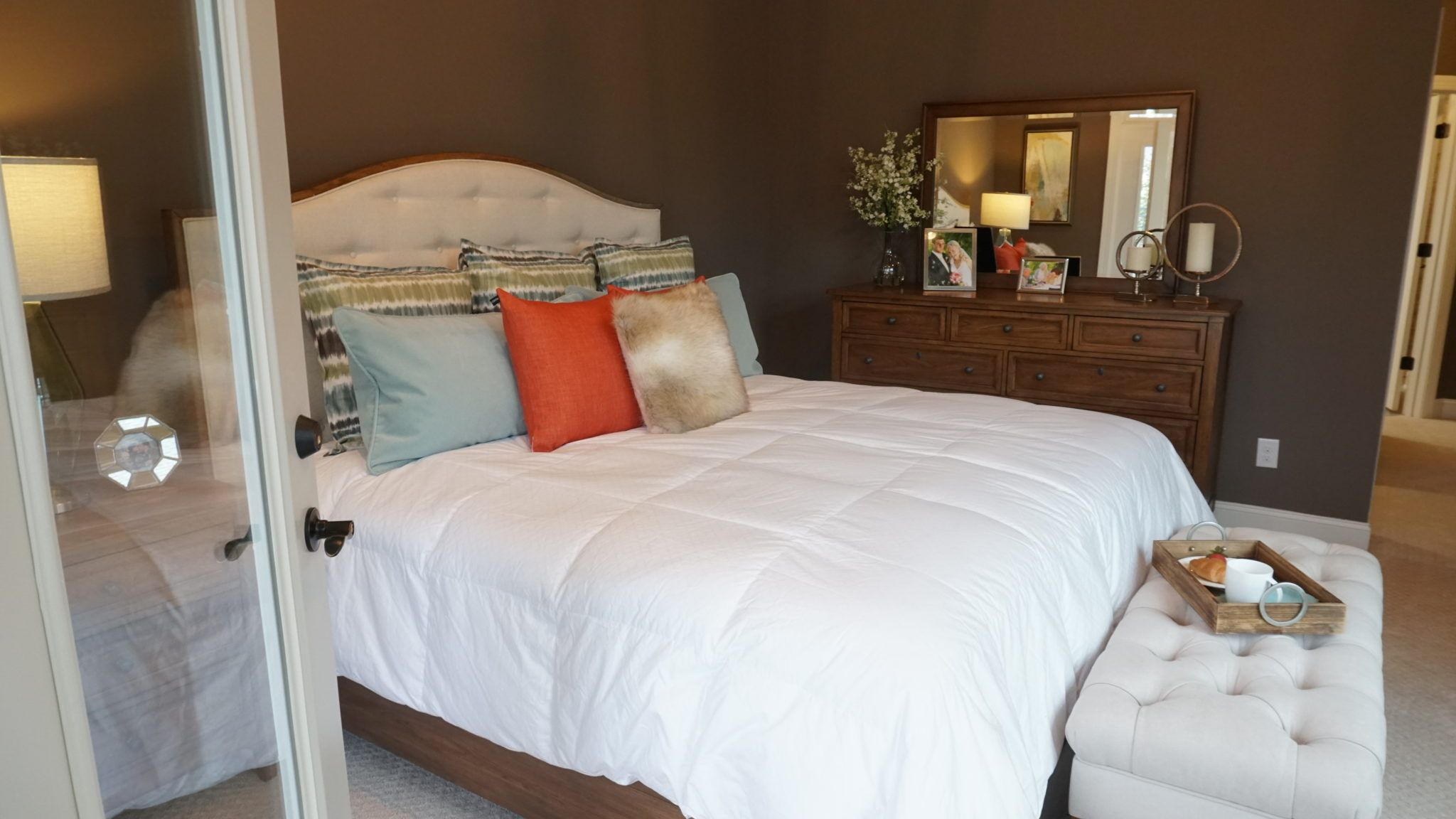 Bedroom featured in the Promenade III - Charlotte Corporate By Epcon Communities in Charlotte, NC
