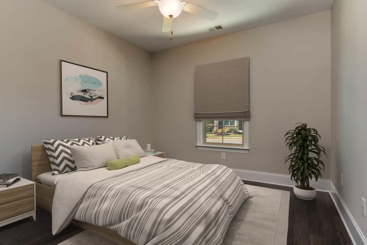 Bedroom featured in the Piazza By NewStyle Communities in Charlotte, SC