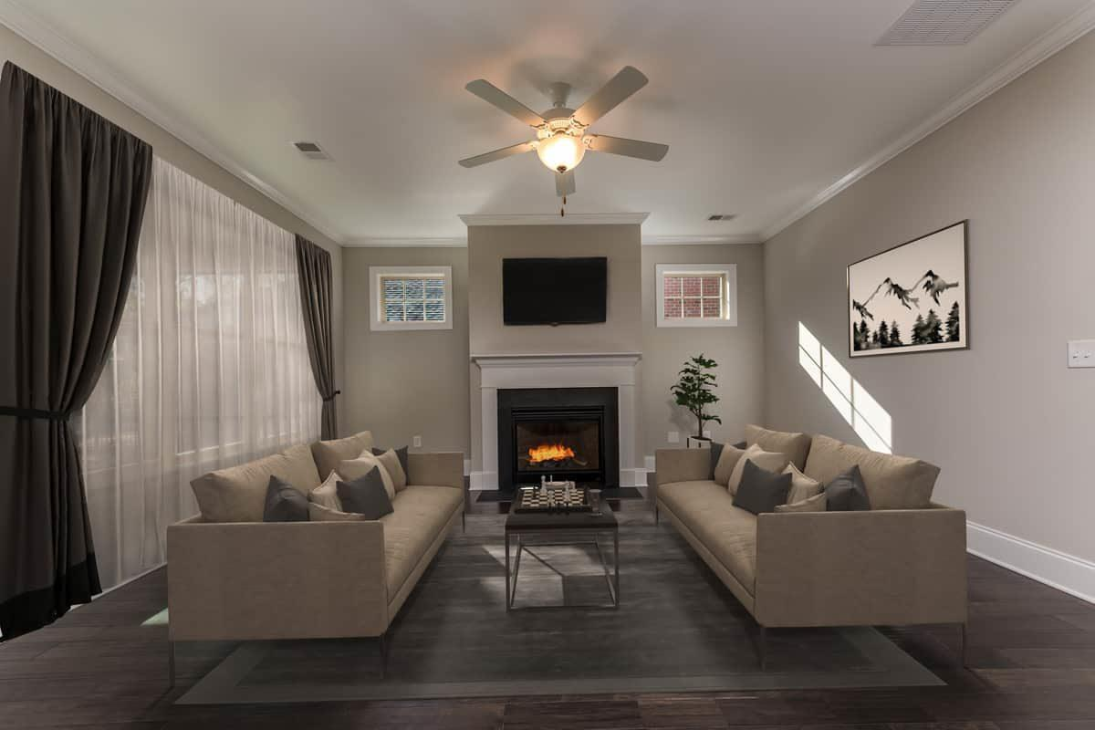 Living Area featured in the Piazza By NewStyle Communities in Charlotte, SC