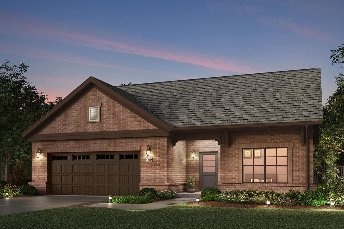 Exterior featured in the Promenade III By NewStyle Communities in Greenville-Spartanburg, SC