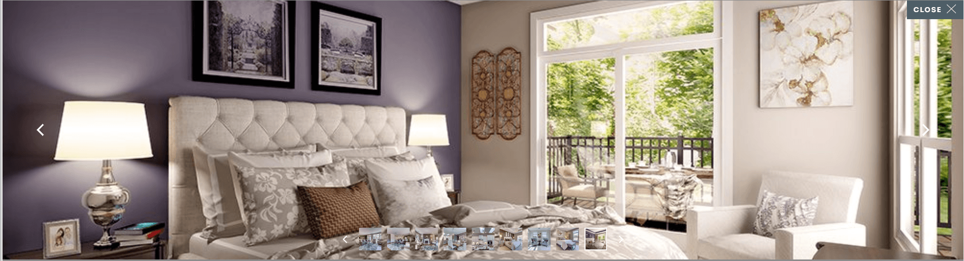 Bedroom featured in the Promenade By Epcon Homes and Communities in Cincinnati, OH