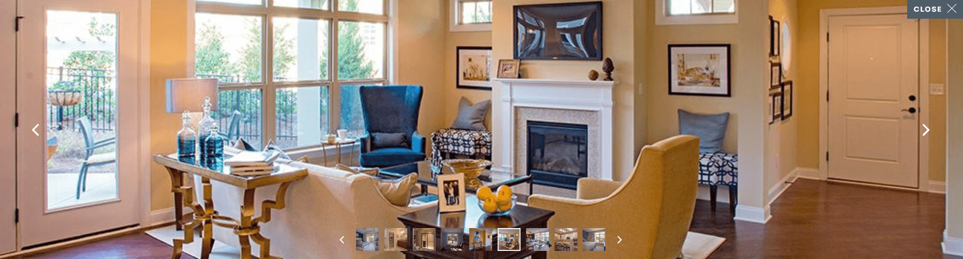 Living Area featured in the Promenade By Epcon Homes and Communities in Cincinnati, OH