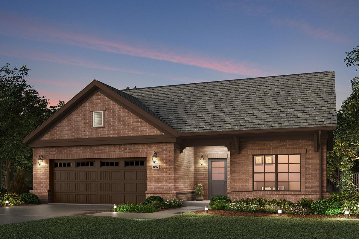 Exterior featured in the Promenade III By NewStyle Communities in Charlotte, SC