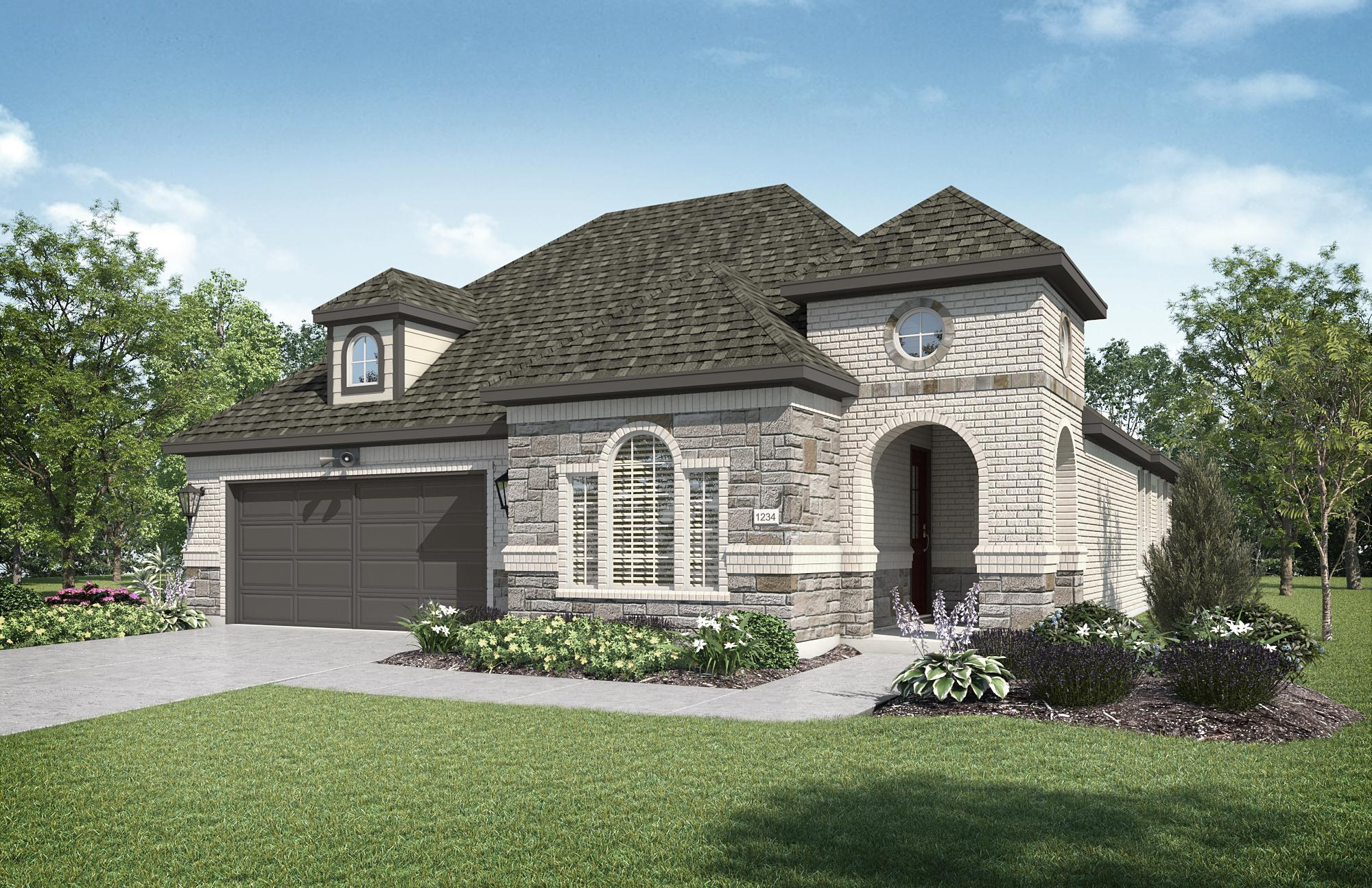 Exterior featured in the Verona By Integrity Group, LLC in Dallas, TX