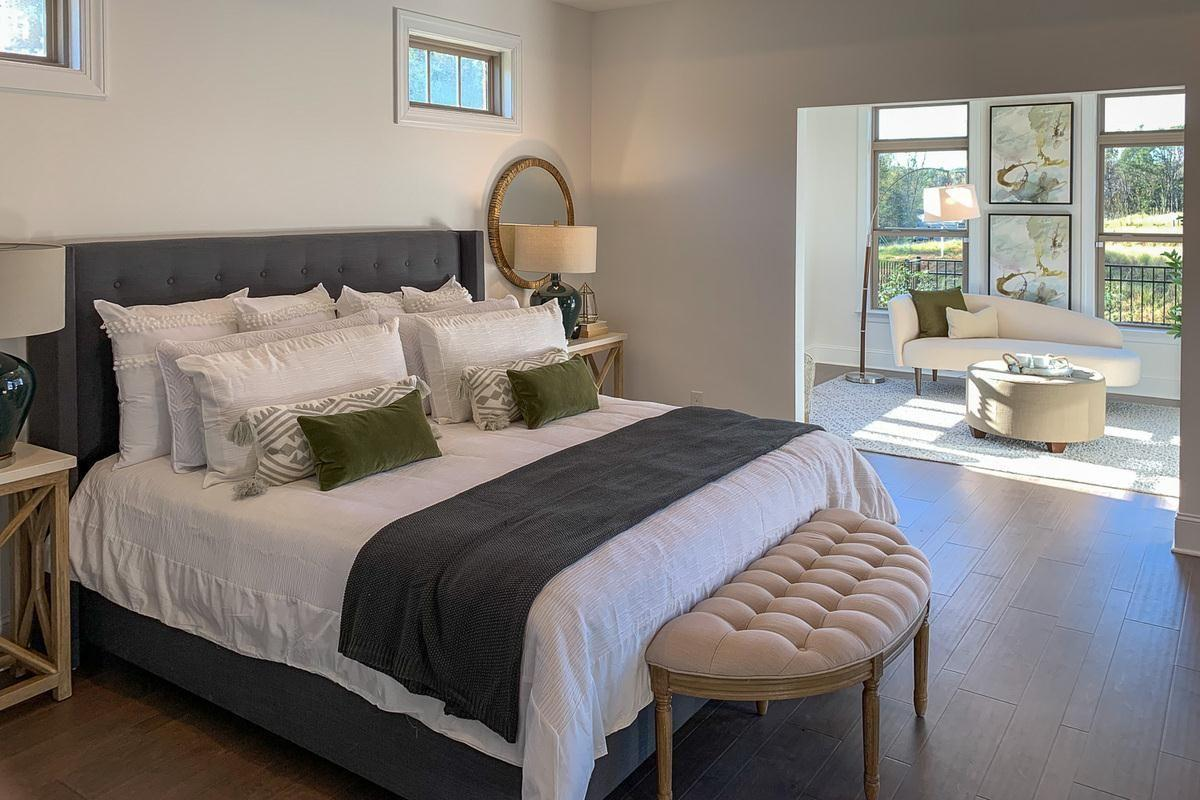 Bedroom featured in the Portico By NewStyle Communities in Greenville-Spartanburg, SC