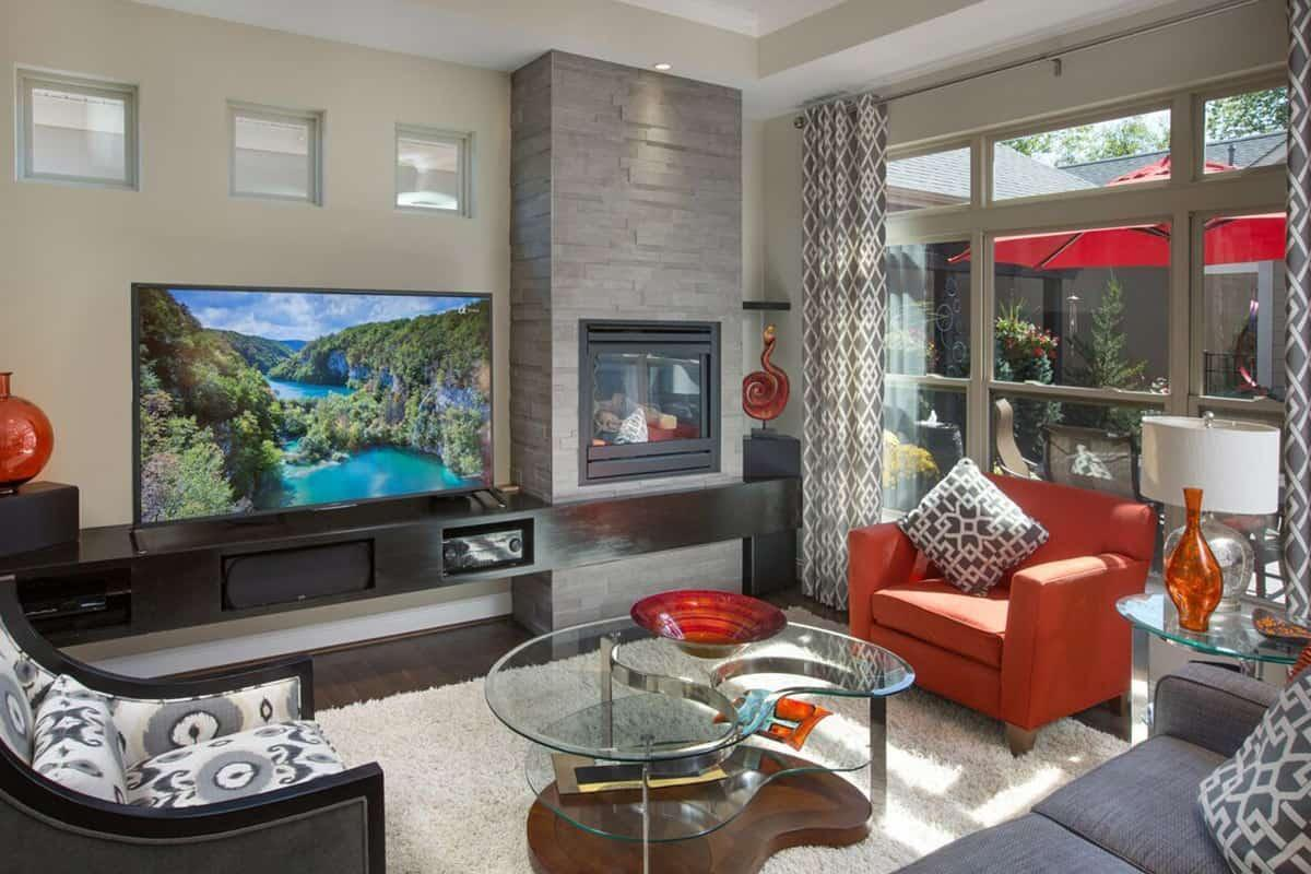 Living Area featured in the Palazzo By NewStyle Communities in Greenville-Spartanburg, SC