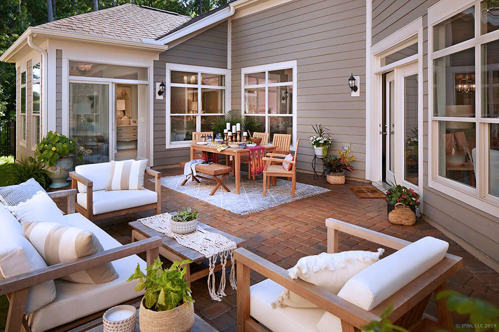 'The Courtyards on Poplar Tent' by Epcon Communities in Charlotte