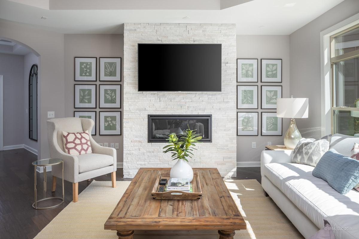 Living Area featured in the Promenade III By NewStyle Communities in Charlotte, NC