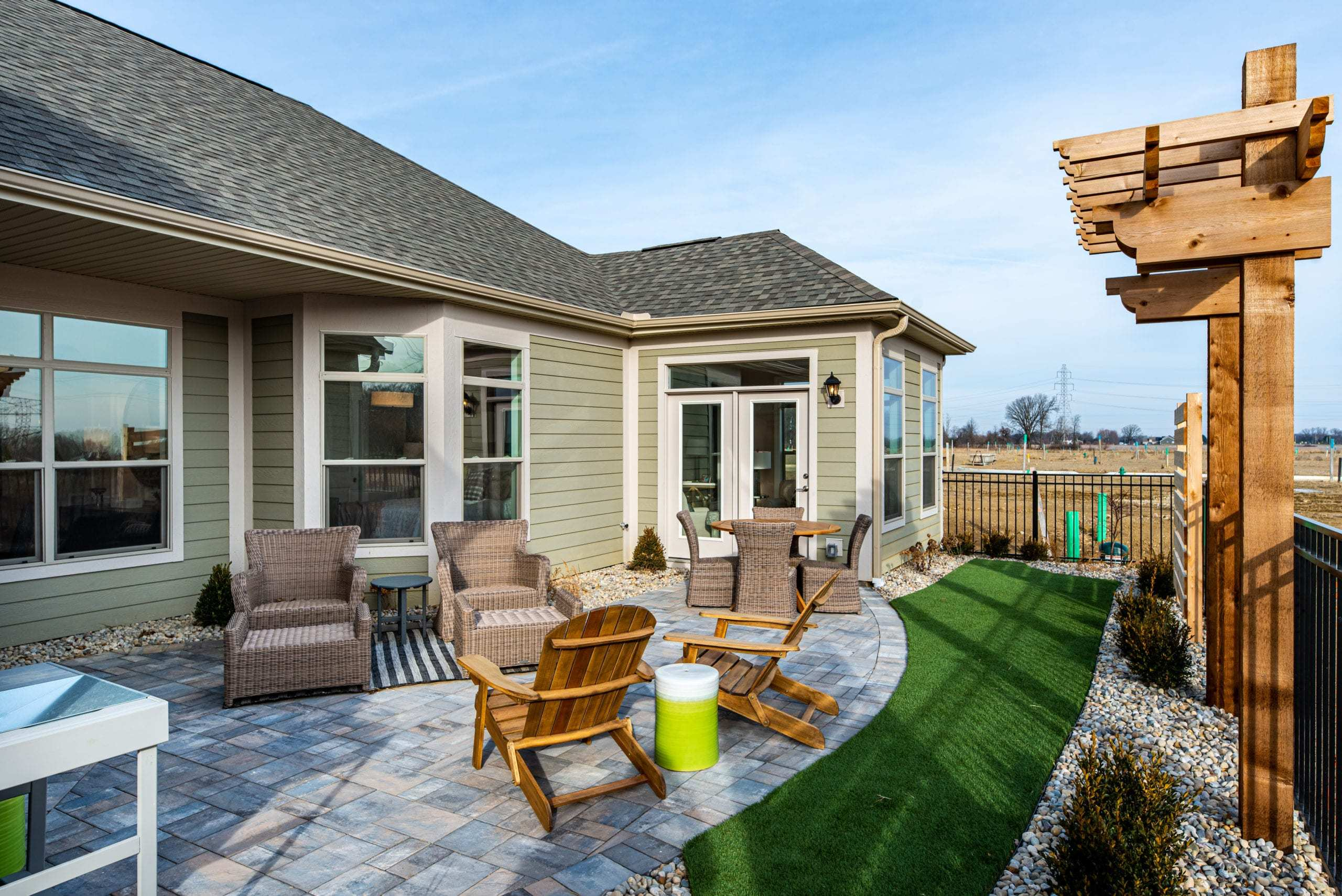 Exterior featured in the Palazzo - Raleigh ** By Epcon Communities
