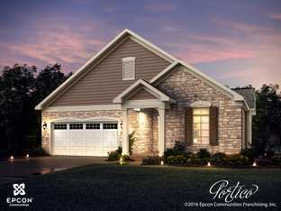 Portico - Raleigh ** - The Courtyards at West Cary: Cary, North Carolina - Epcon Communities