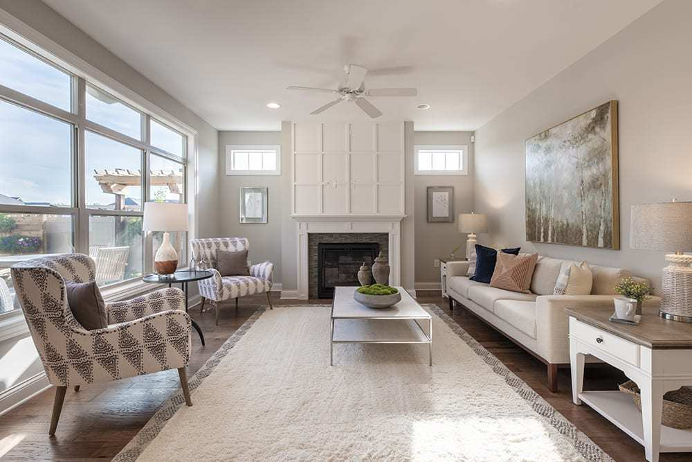 Living Area featured in the Portico - Charlotte ** By Epcon Communities in Charlotte, NC