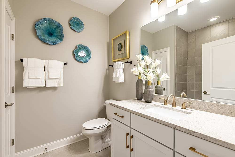 Bathroom featured in the Portico - Charlotte ** By Epcon Communities in Charlotte, NC
