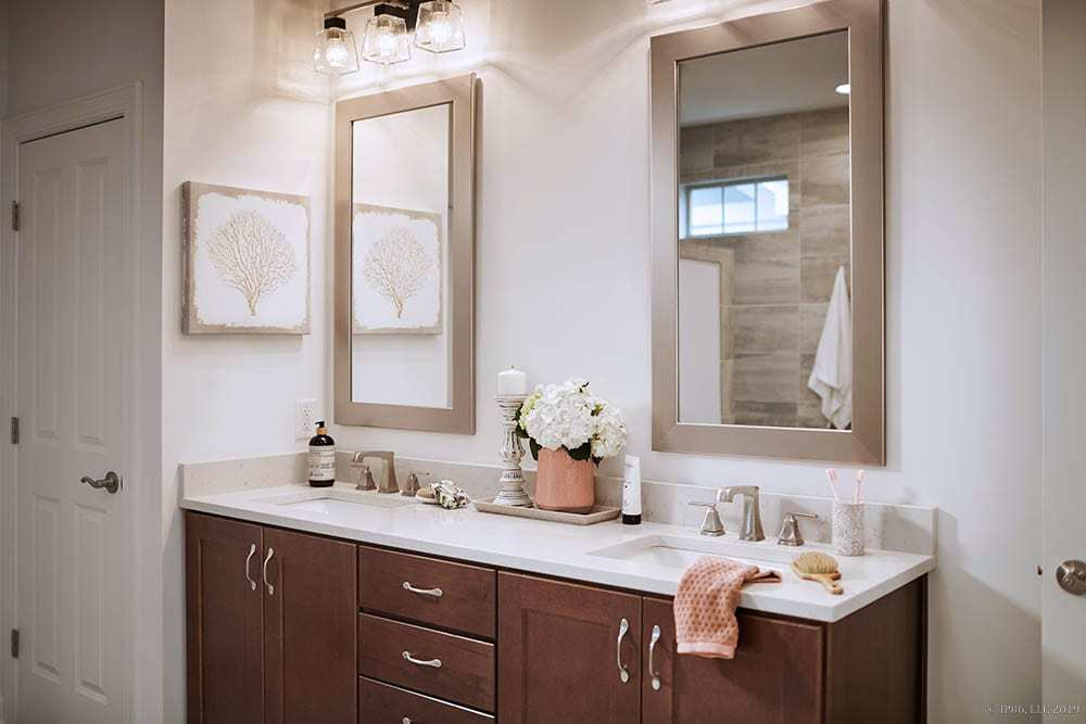Bathroom featured in the Promenade III - Charlotte** By Epcon Communities in Charlotte, NC