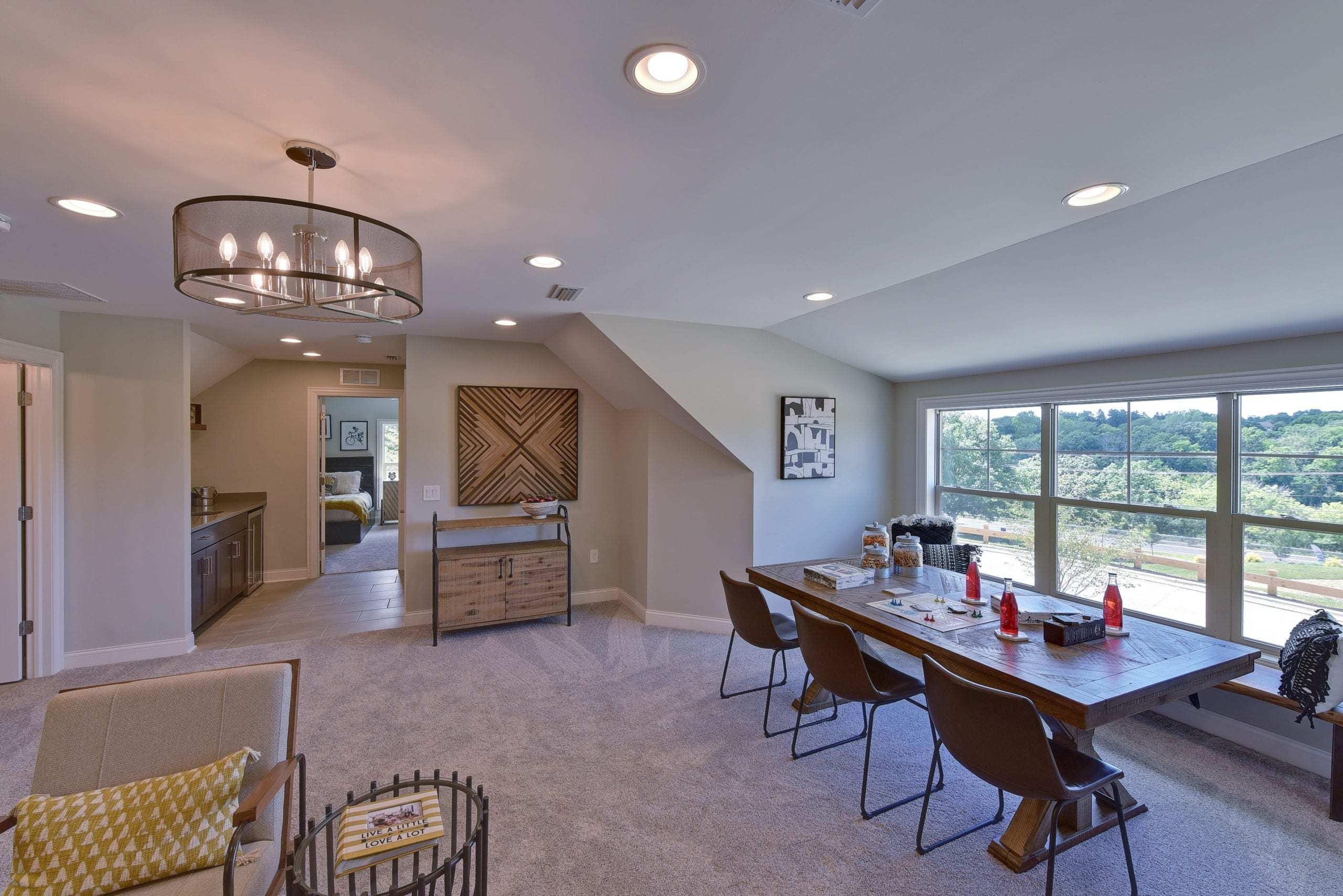 Living Area featured in the Promenade III - Charlotte** By Epcon Communities in Charlotte, NC