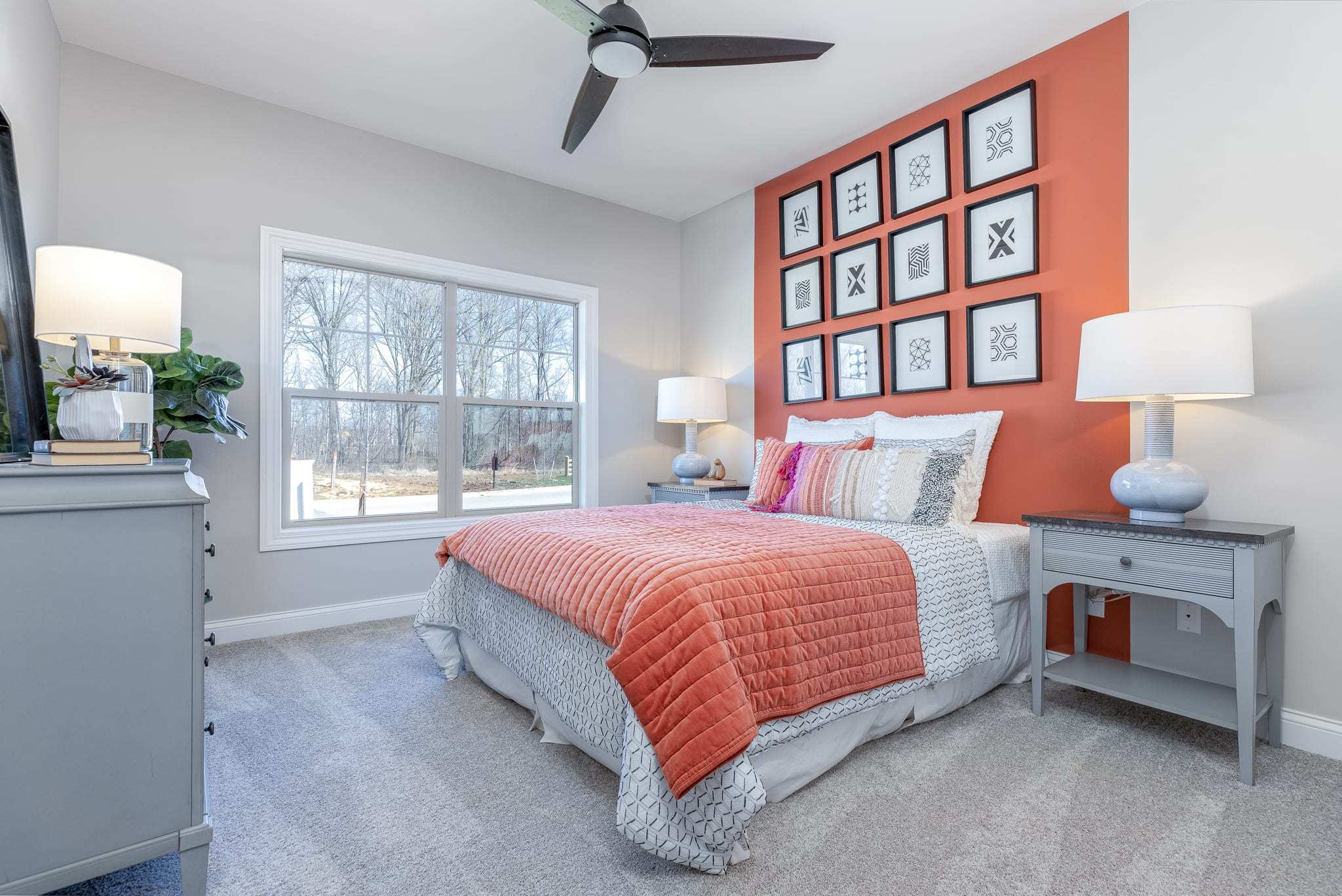 Bedroom featured in the Promenade III - Charlotte** By Epcon Communities in Charlotte, NC