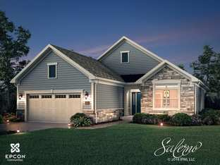 Salerno - Raleigh** - The Courtyards at West Cary: Cary, North Carolina - Epcon Communities