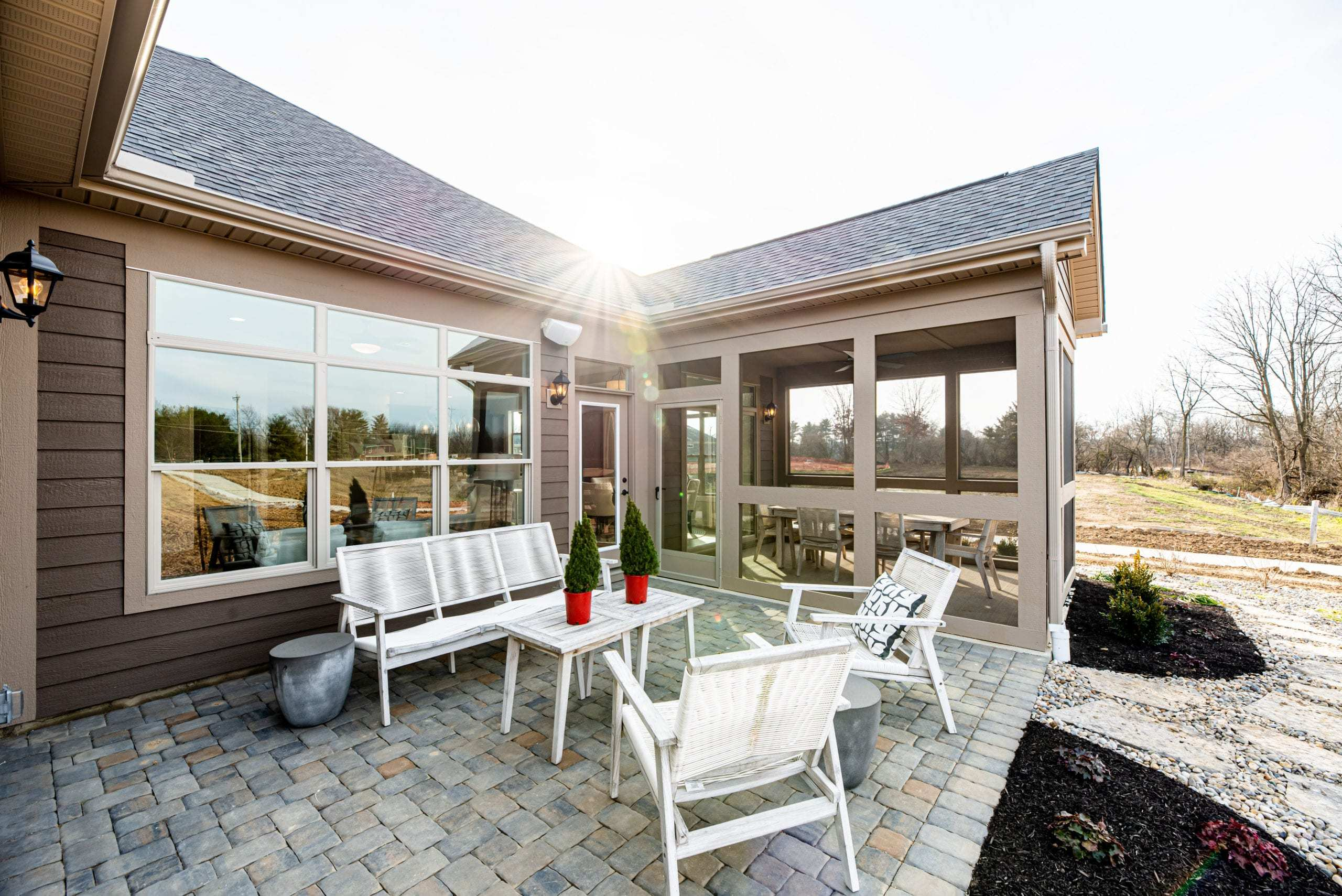 Exterior featured in the Torino II - Raleigh** By Epcon Communities