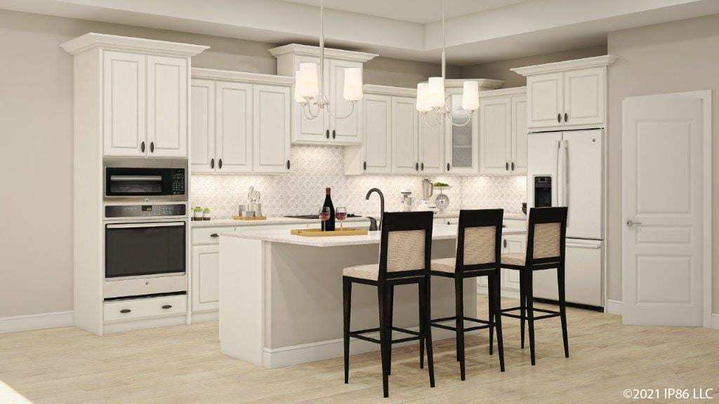 Kitchen featured in the Torino II - Raleigh** By Epcon Communities