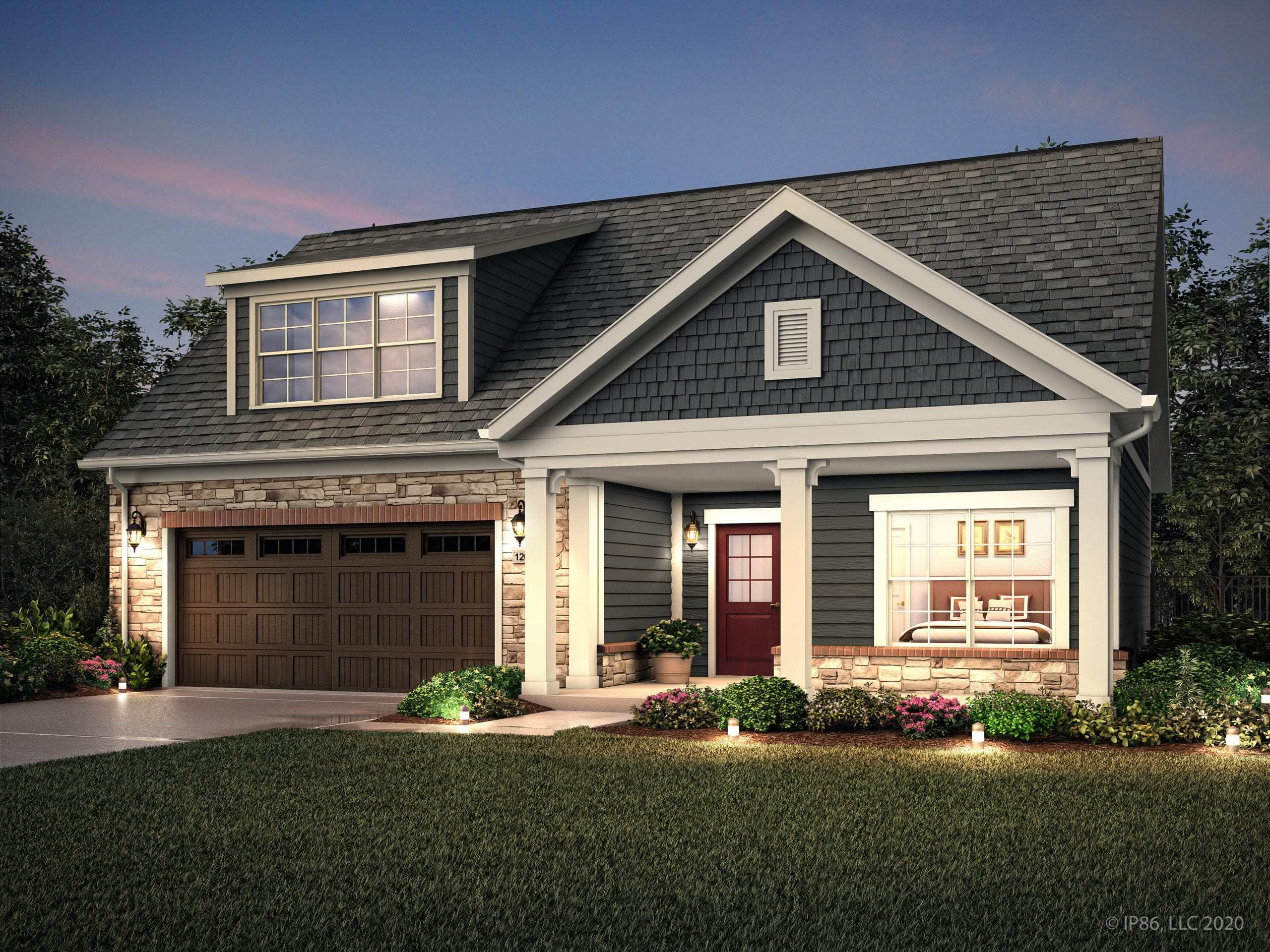 Exterior featured in the Promenade III - Charlotte** By Epcon Communities in Charlotte, NC