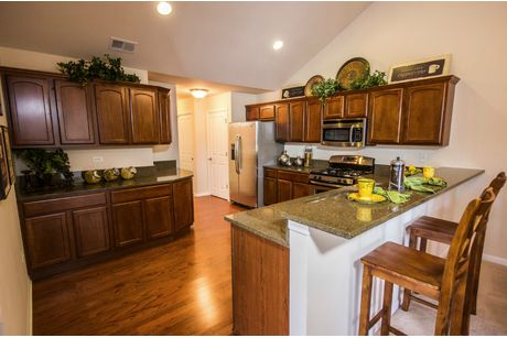 Kitchen-in-Abbey-at-Augusta Place at Laurel Creek-in-Rock Hill