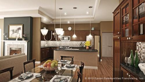 Kitchen-in-Canterbury-at-Cottages at Pryse Farm-in-Farragut