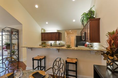 Kitchen-in-Abbey-at-Maples at the Sonatas-in-Woodstock