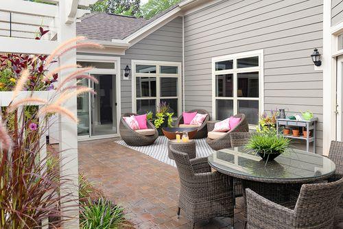 Patio-in-Promenade-at-Fairway Estates at Catawba Island Club-in-Port Clinton