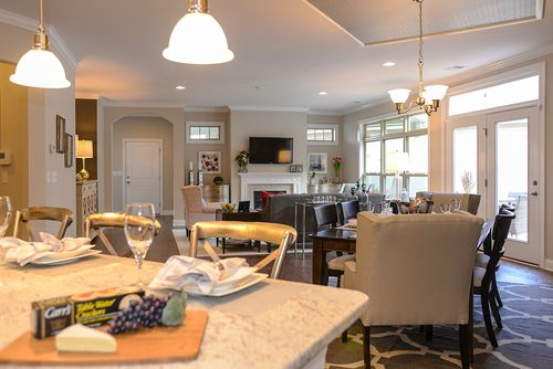 Greatroom-and-Dining-in-Promenade-at-Fairway Estates at Catawba Island Club-in-Port Clinton